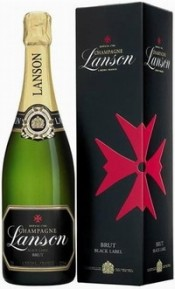 Lanson, Black Label, Brut, gift box | Лансон, Блэк Лейбл, Брют, п.у.