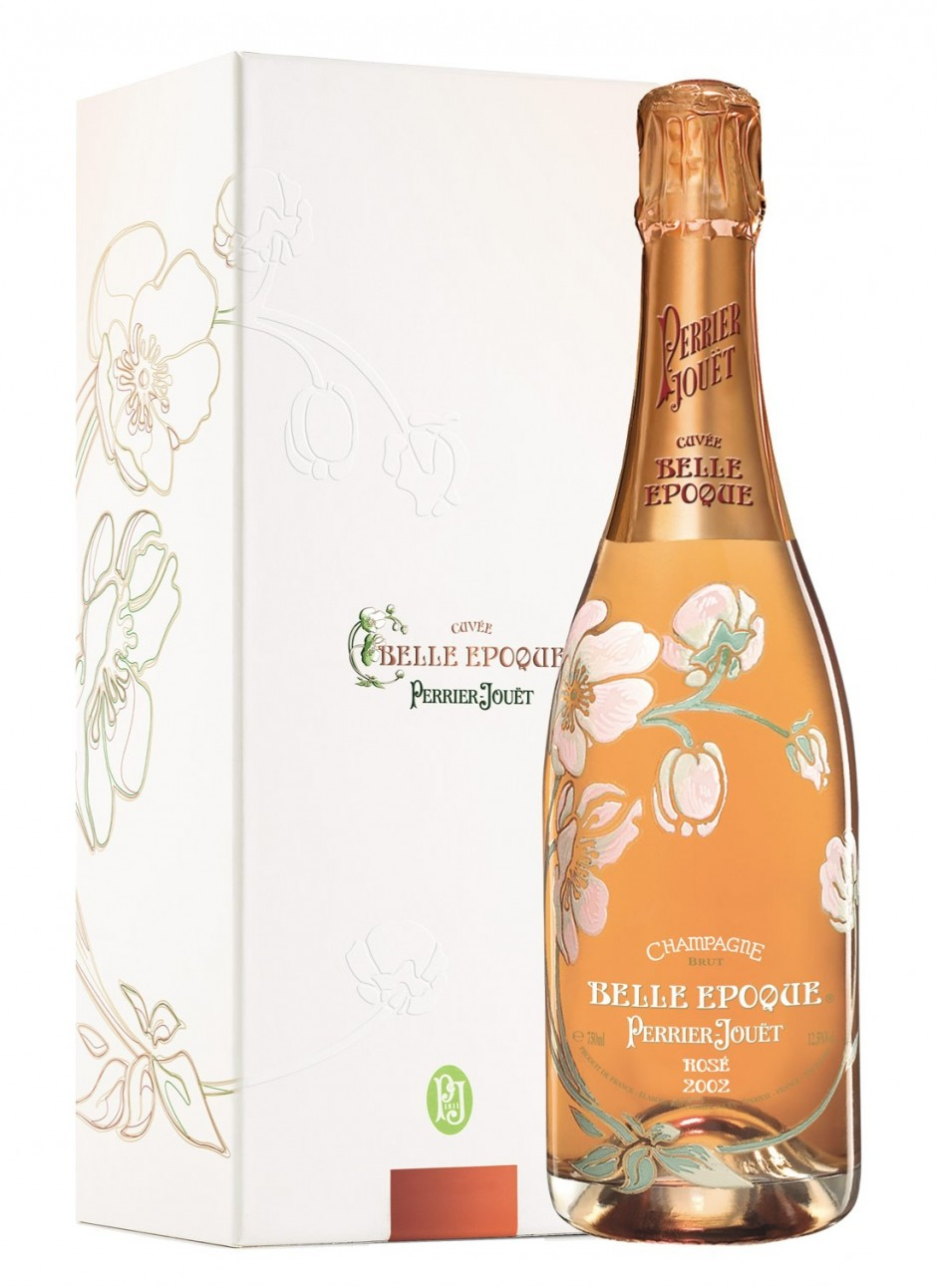 Perrier-Jouet Belle Epoque Rose Champagne AOC gift box