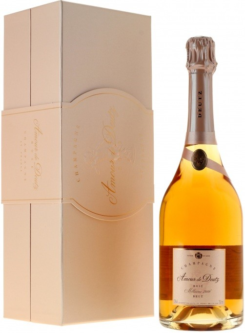 Amour de Deutz, Brut, Rose, gift box