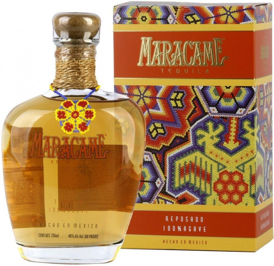 Maracame Reposado gift box 750 мл