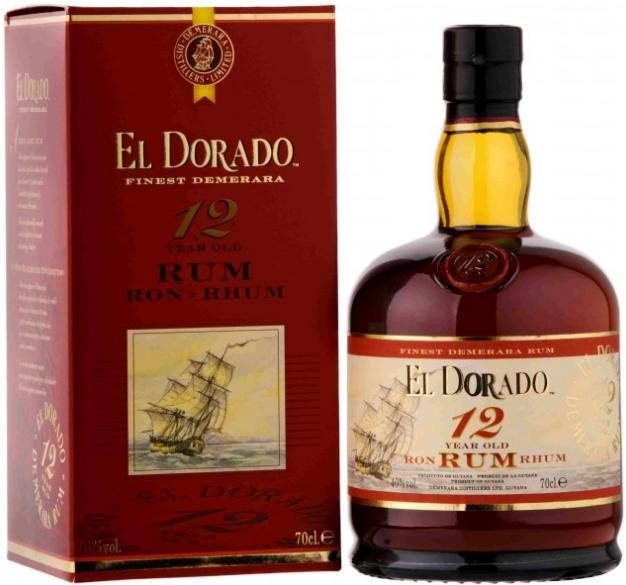 El Dorado 12 Years Old gift box 700 мл