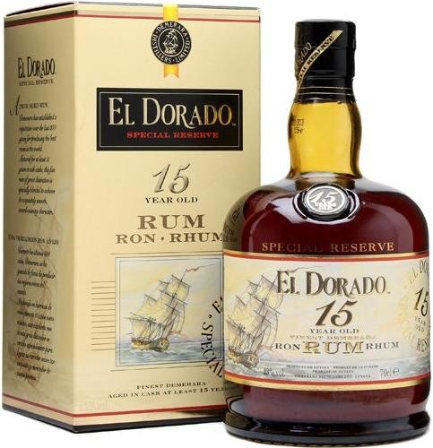 El Dorado Special Reserve 15 Years Old gift box 700 мл