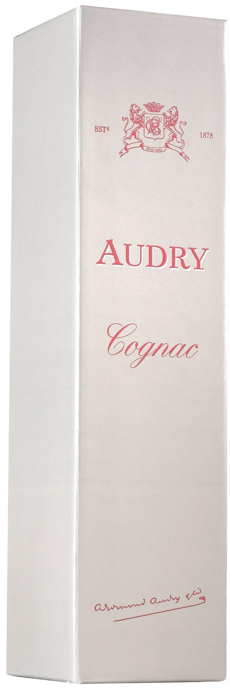Audry Memorial Fine Champagne gift box 700 мл
