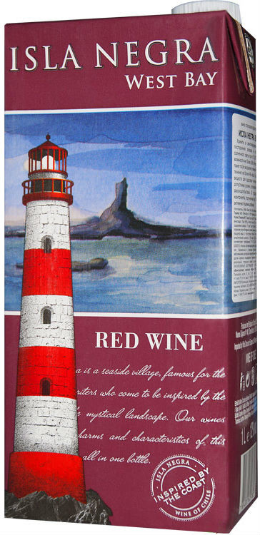 Isla Negra, West Bay, Red, Tetra Pak