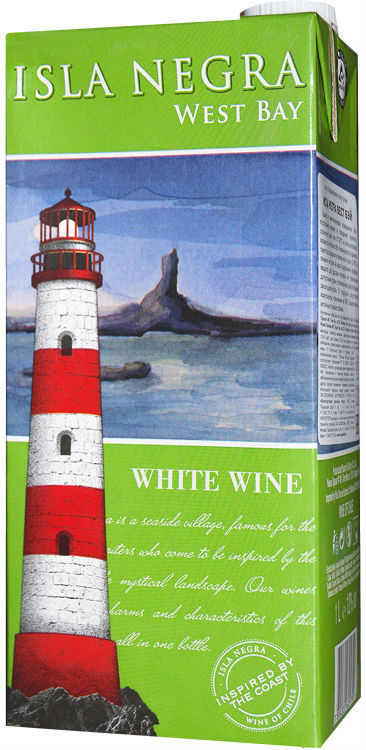 Isla Negra, West Bay, White, Tetra Pak