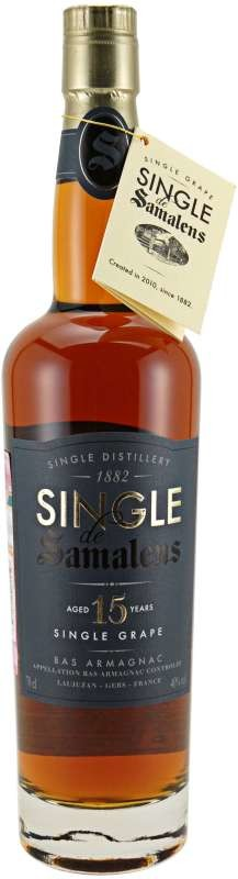 Single de Samalens Bas Armagnac 15yo, tube