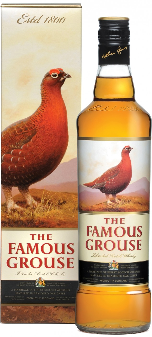 Famous Grouse Finest, gift box