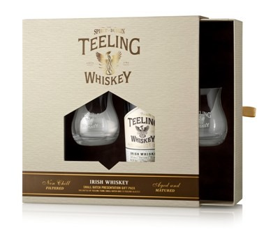 Teeling Gift set with 2 glasses