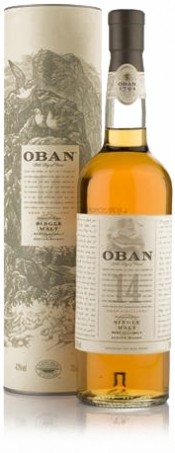 Oban malt 14 years old with box 0.75 л