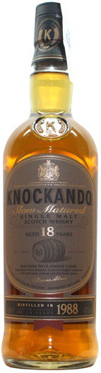 Knockando 18 years Slow Matured, gift box