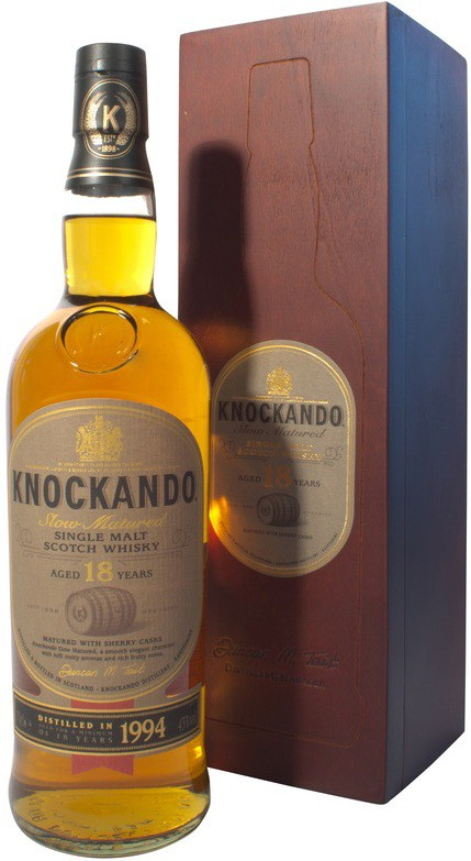 Knockando 18 years Slow Matured, gift box | Нокэнду 18 лет Слоу Мэйчед, п.у.