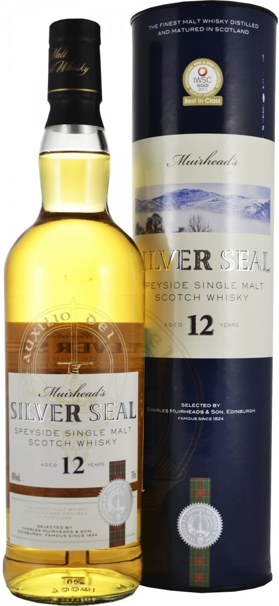 Muirhead`s, Silver Seal, 12 Years Old, gift box