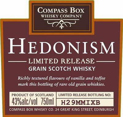 Compass Box Hedonism limited release gift box 0.7 л