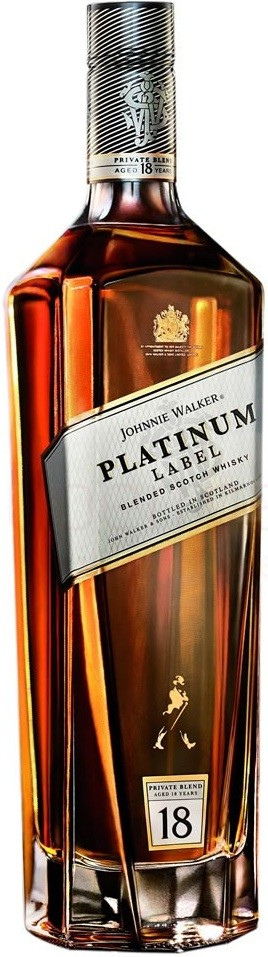 Johnnie Walker Platinum Label 18yo, gift box