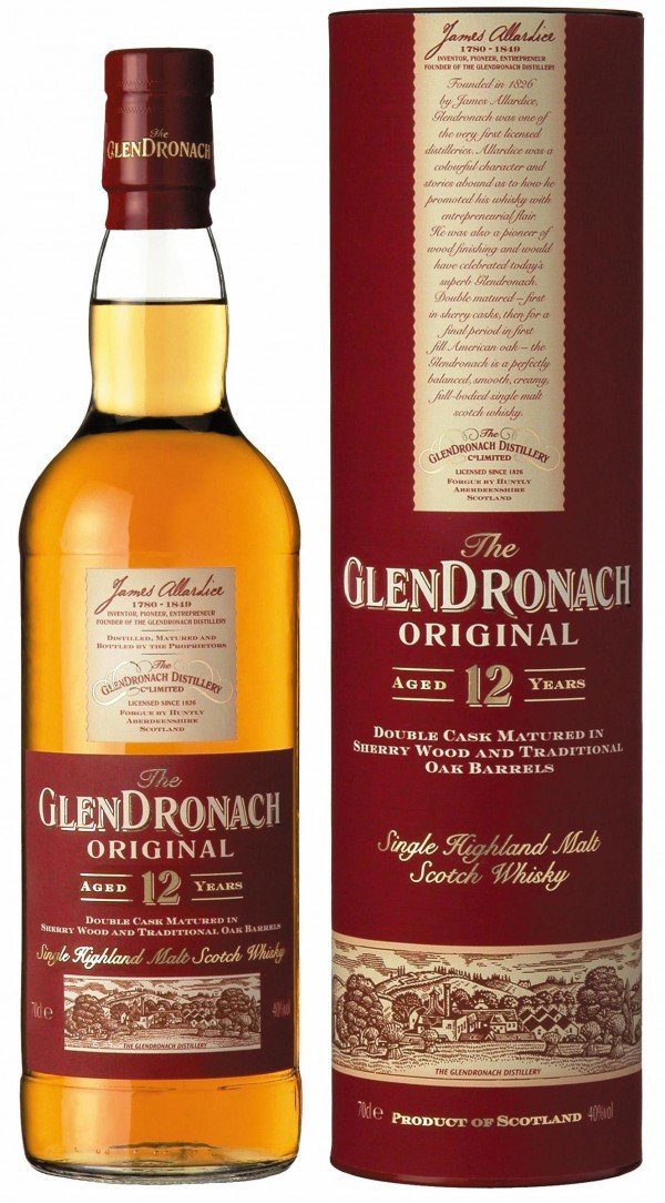 Glendronach, Original 12 years old, in tube