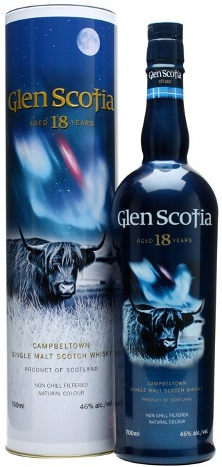 Glen Scotia 18 Years Old in tube 0.7 л