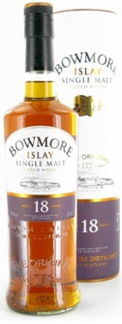 Bowmore 18 Years Old In Tube 0.7 л