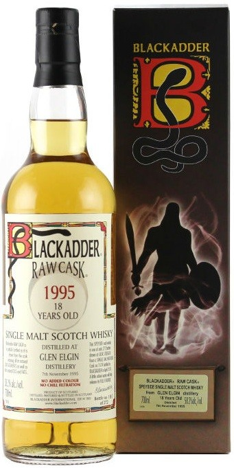 Blackadder Raw Cask Glen Elgin 18 Years Old gift box 0.7 л