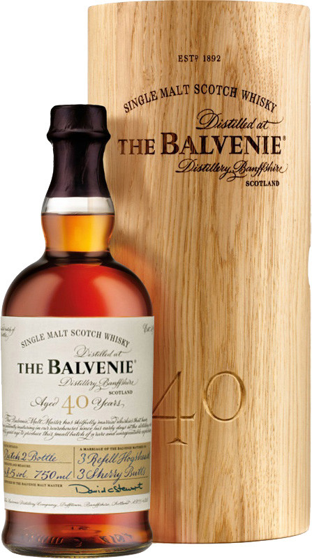 Balvenie, Forty, 40 Years Old, gift box