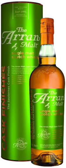Arran, Sauternes Cask Finish, in tube