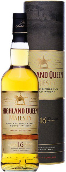 Highland Queen Majesty 16yo, gift box