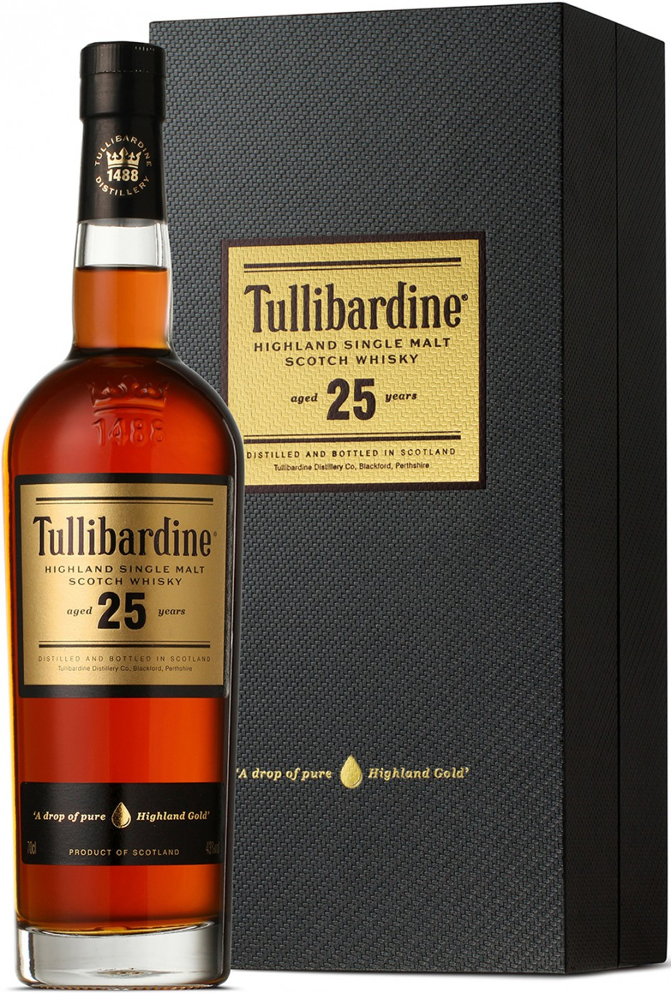 Tullibardine 25 Years Old gift box 0.7 л