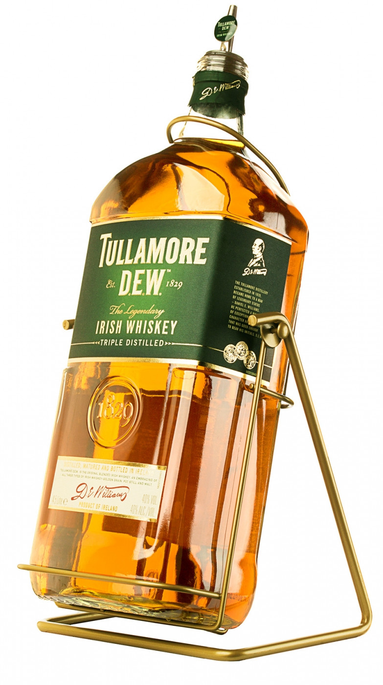 Tullamore Dew, with Pouring Stand, gift box