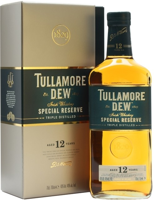 Tullamore Dew, 12 Years Old, gift box