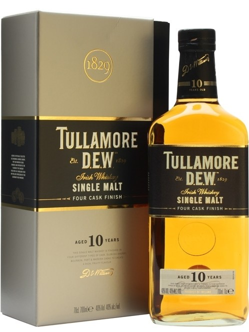 Tullamore Dew 10 Years Old gift box 0.7 л