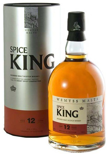 Spice King 12 years gift box 0.7 л