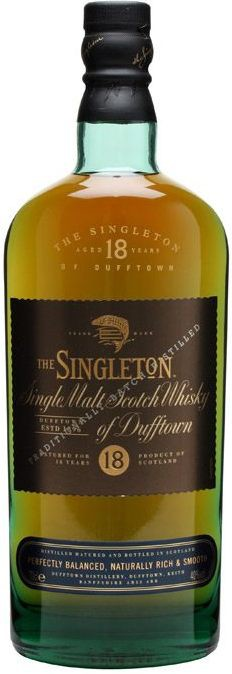Singleton of Dufftown, 18 Years Old