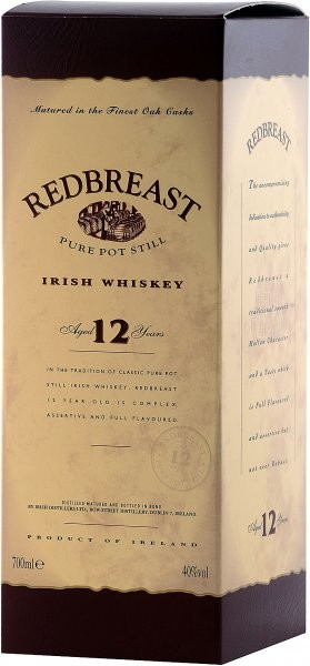 Redbreast 12 years gift box 0.7 л