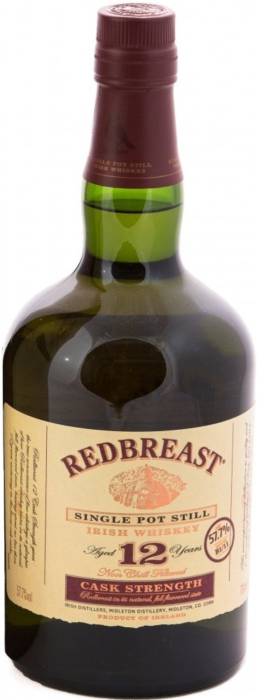 Redbreast Cask Strength Edition 12 Years Old gift box 0.7 л