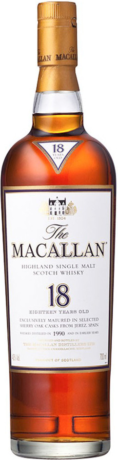 Macallan 18 Years Old gift box 0.7 л