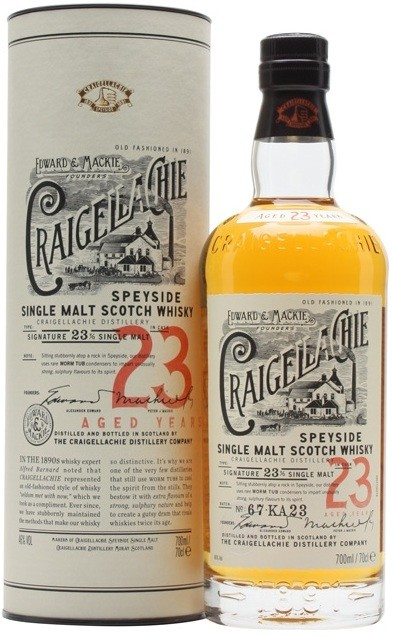 Craigellachie 23 Years Old in tube 0.7 л