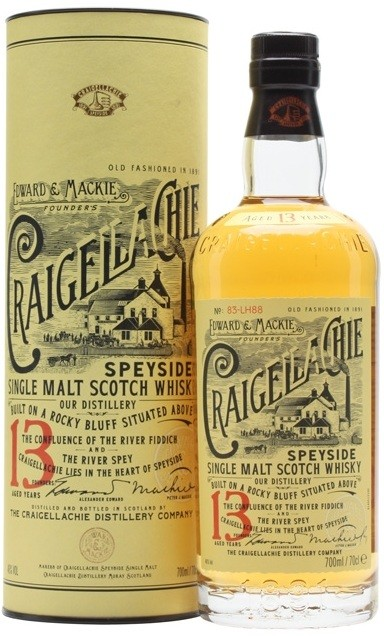 Craigellachie, 13 Years Old, in tube