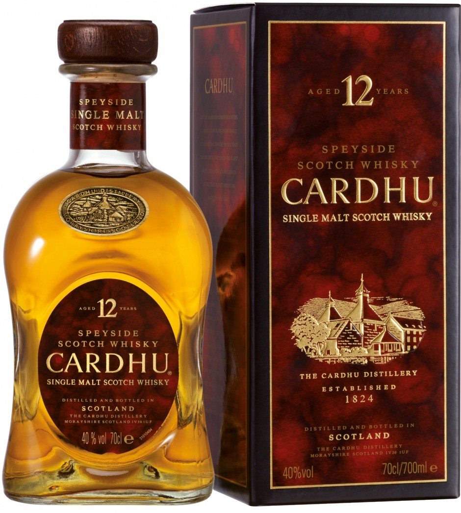Cardhu, 12 Years Old, gift box