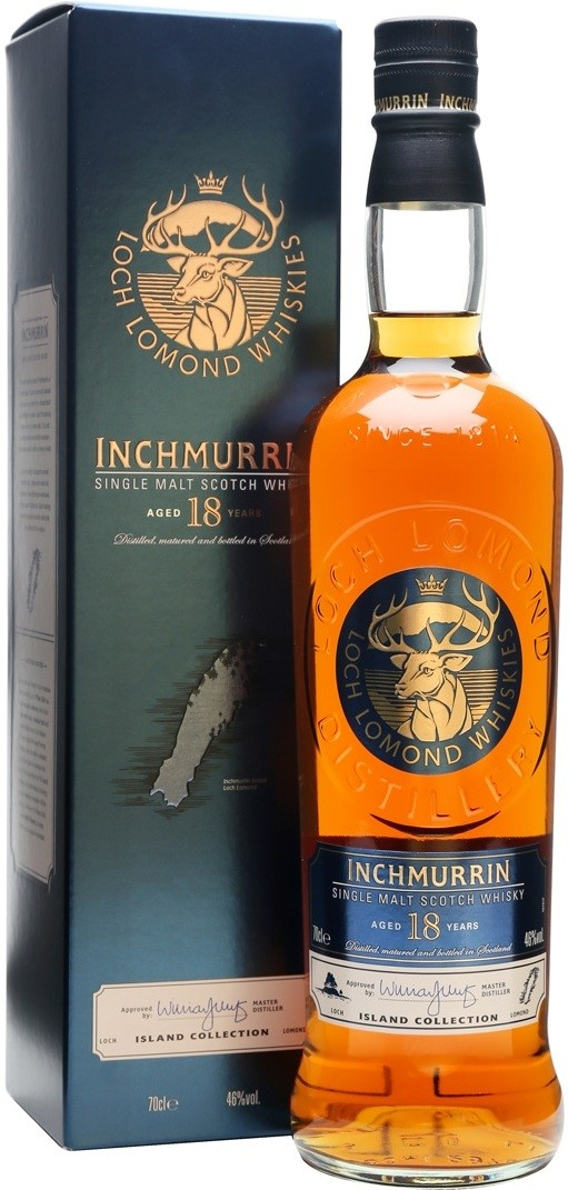 Loch Lomond, Inchmurrin, 18 Years Old, gift box