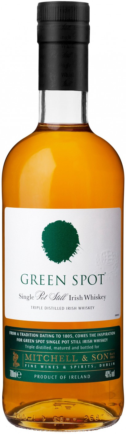 Green Spot Irish Whiskey gift tube 0.7 л