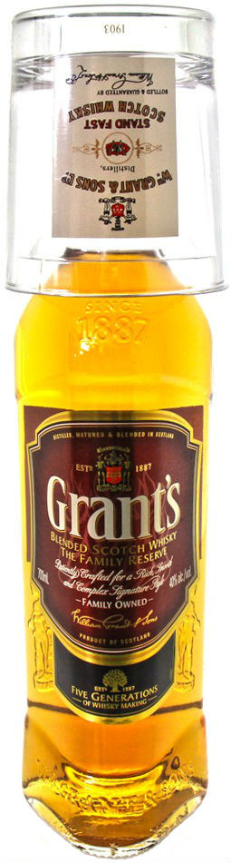 Grants Family Reserve glass