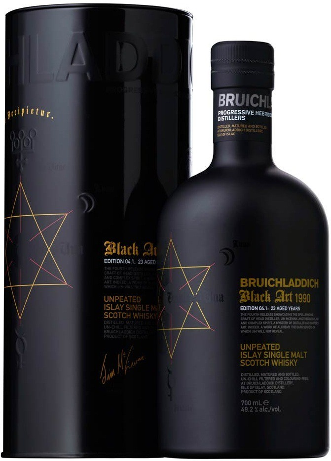Bruichladdich Black Art Edition 04.1 in tube 0.7 л