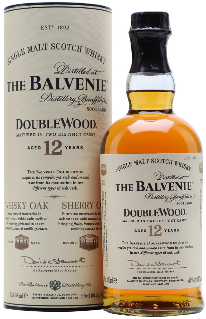 Balvenie, Doublewood, 12 Years Old, in tube