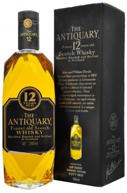 Antiquary, 12 Years Old, gift box