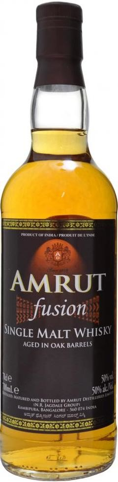 Amrut Fusion in tube