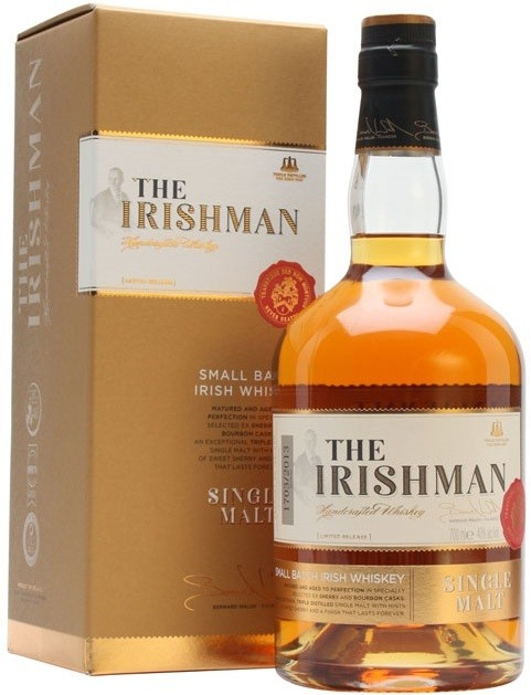 The Irishman Single Malt, gift box