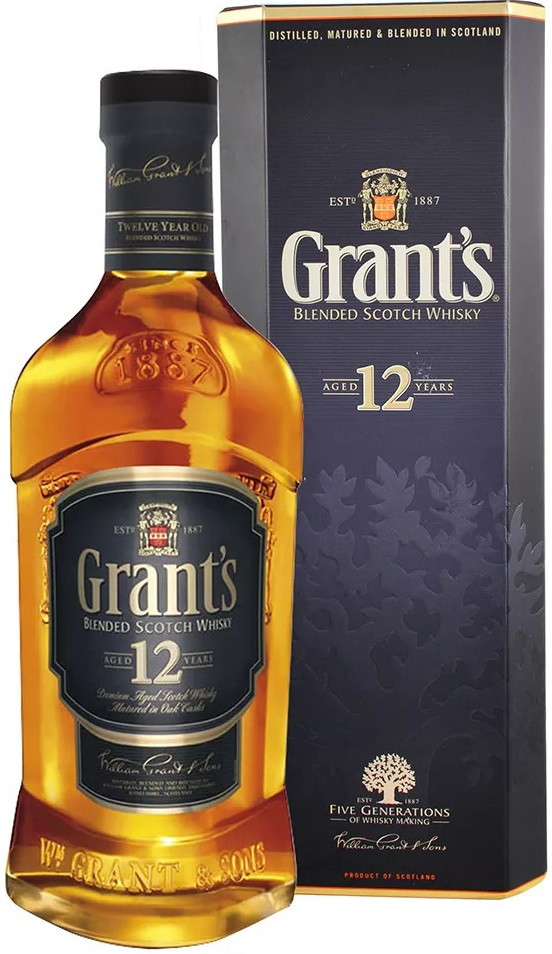 Grant`s, 12 Years Old, gift box
