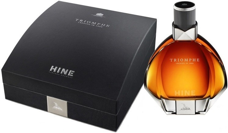 Hine Triomphe crystal decanter in a gift box 0.7 л