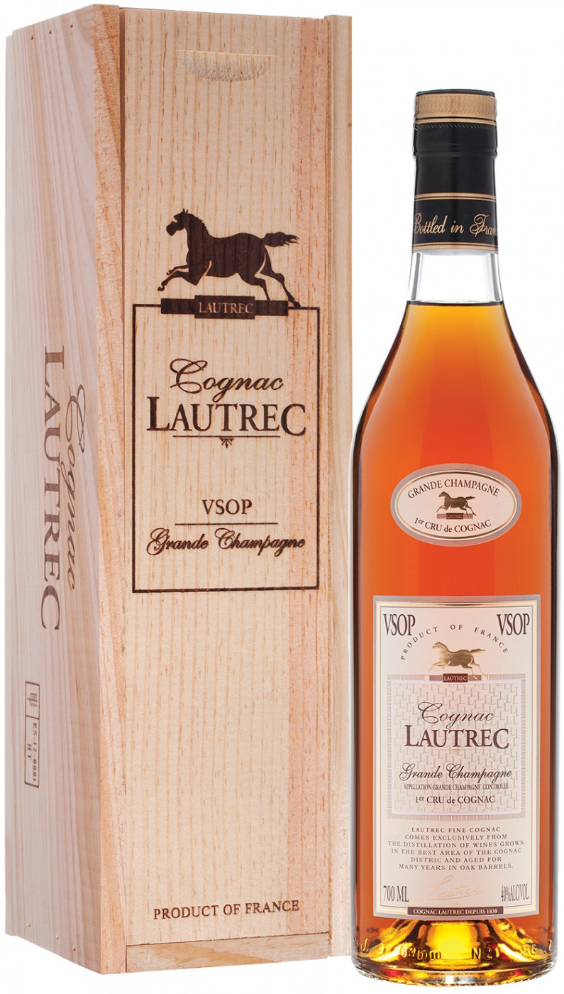 Lautrec VSOP, wooden box