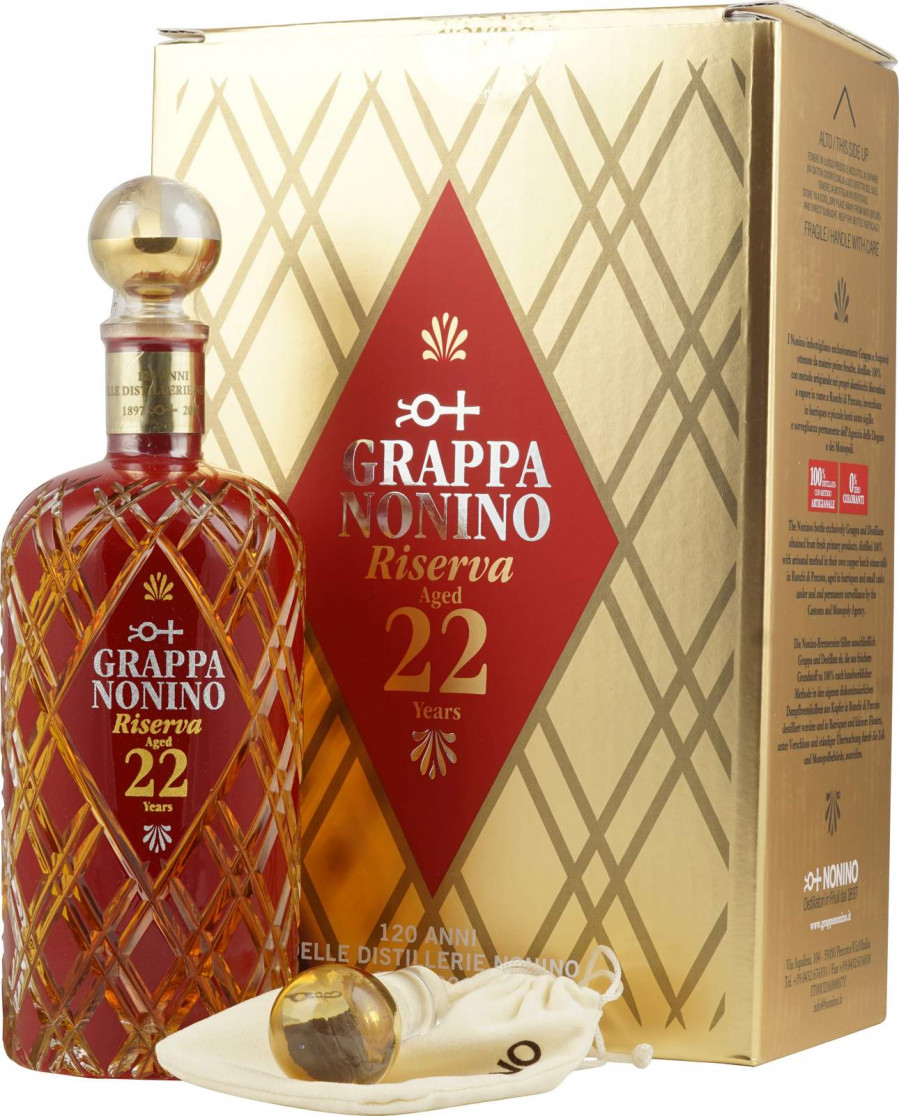 Nonino Riserva 22 Years Old gift box 0.7 л