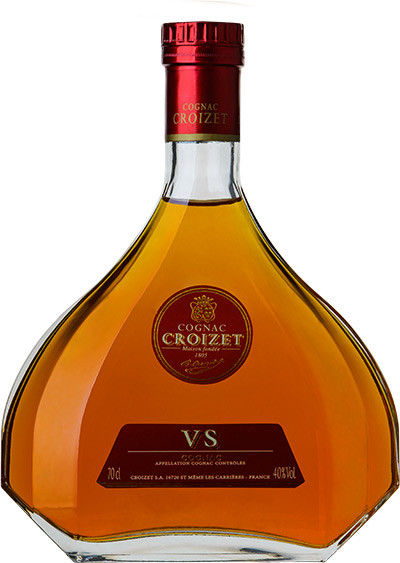 Croizet VS Cognac AOC in decanter gift box 700 мл